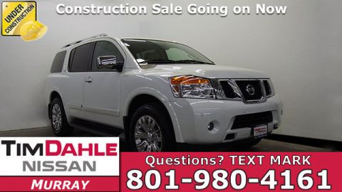 Pre-Owned 2015 Nissan Armada Platinum 4WD