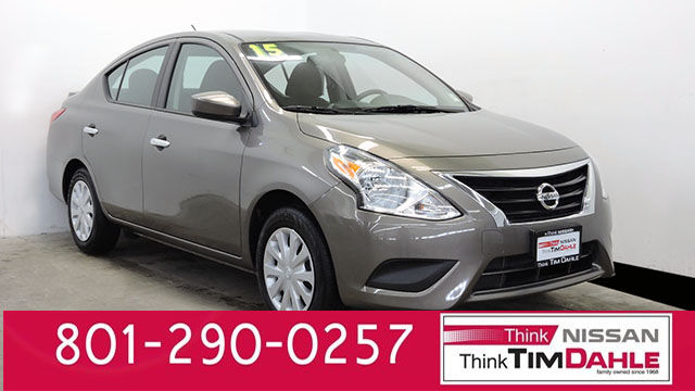 Certified Pre-Owned 2015 Nissan Versa 1.6 SV FWD Sedan